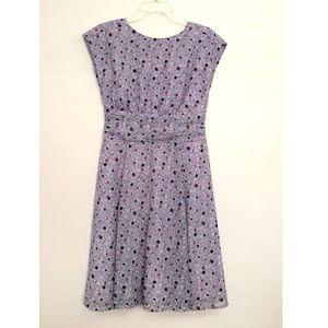 Eshatki Floral Print Chiffon Dress
